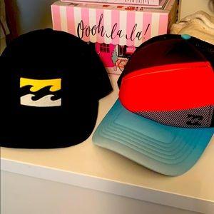 Bundle of two trucker hats for men